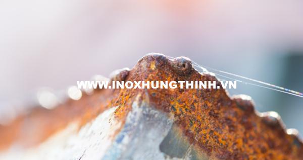 Bí mật chống gỉ sét của thép Inox