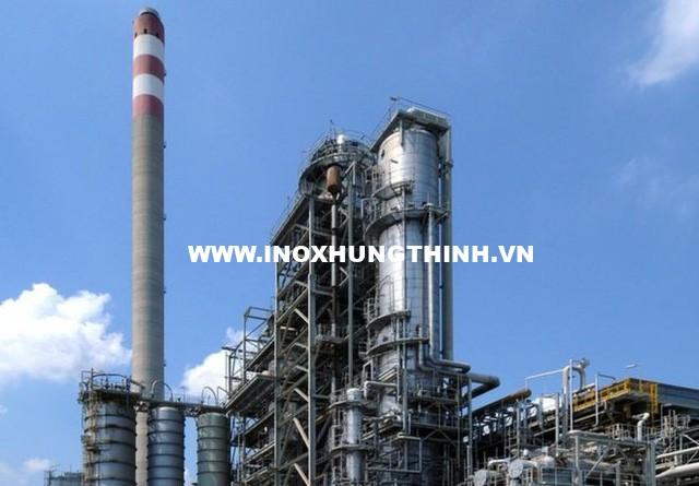 Inox 316 rất được ưa chuộng để làm vật liệu xây dựng, thiết bị máy móc ở những nhà máy hóa học
