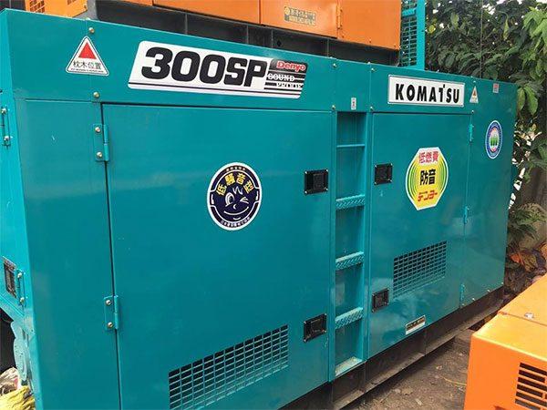 Máy phát điện 300kva Mitsubishi đã qua sử dụng còn mới 90% được nhập khẩu từ Nhật Bản