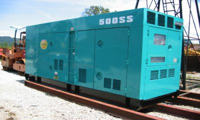 Máy phát điện 3 pha 500kVA các hãng - Nhập khẩu đồng bộ