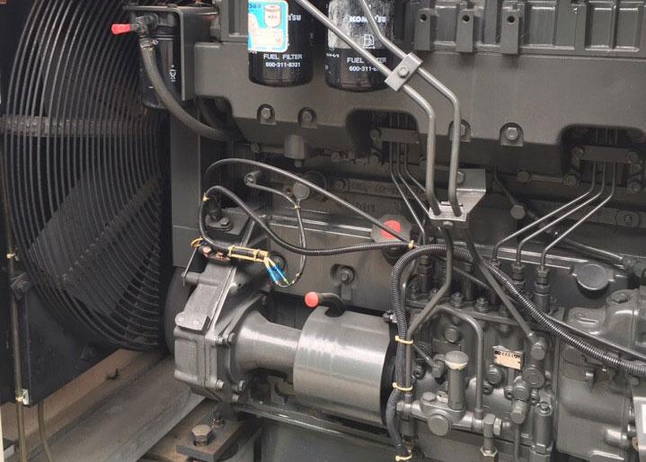 Động cơ Denyo 300kva số xi lanh 6L, điều chỉnh tốc độ bằng điện tử