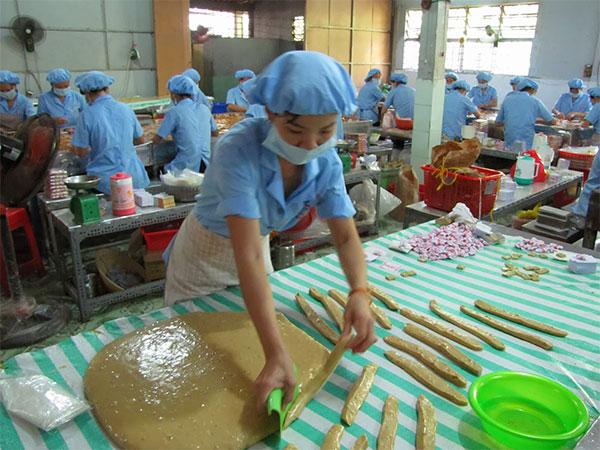 Cơ sở sản xuất kẹo dừa sử dụng dòng máy công suất 400kva