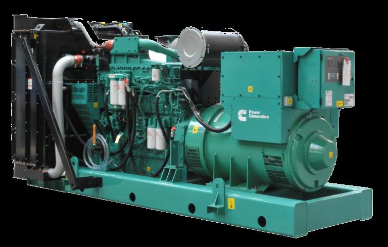 Máy công suất 400kva có kiểu động cơ I6, I8 (L6-8 xi lanh thẳng hàng)