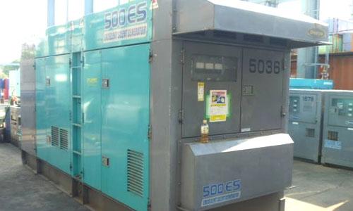 Máy phát điện 500kva tiết kiệm nhiên liệu và thân thiện với môi trường