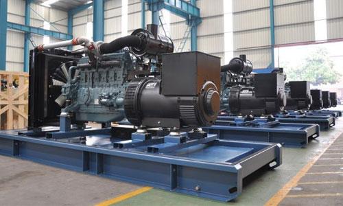Động cơ 500kva có chế độ điều tốc điện tử hoặc cơ học
