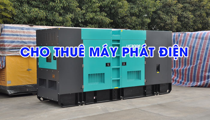 Đáp ứng nguồn dự phòng với dịch vụ cho thuê máy phát điện