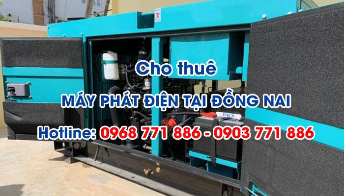 Nên lựa chọn các dịch vụ cho thuê máy phát điện tại Đồng Nai có giấy bảo hành và xuất xứ rõ ràng