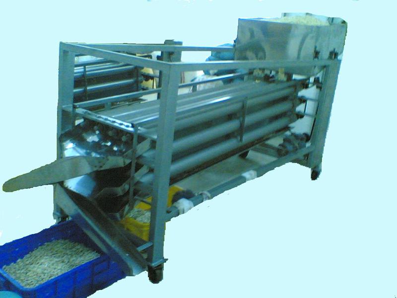 máy phân loại hạt điều