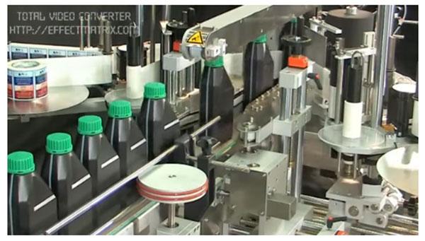 máy dán nhãn tự động